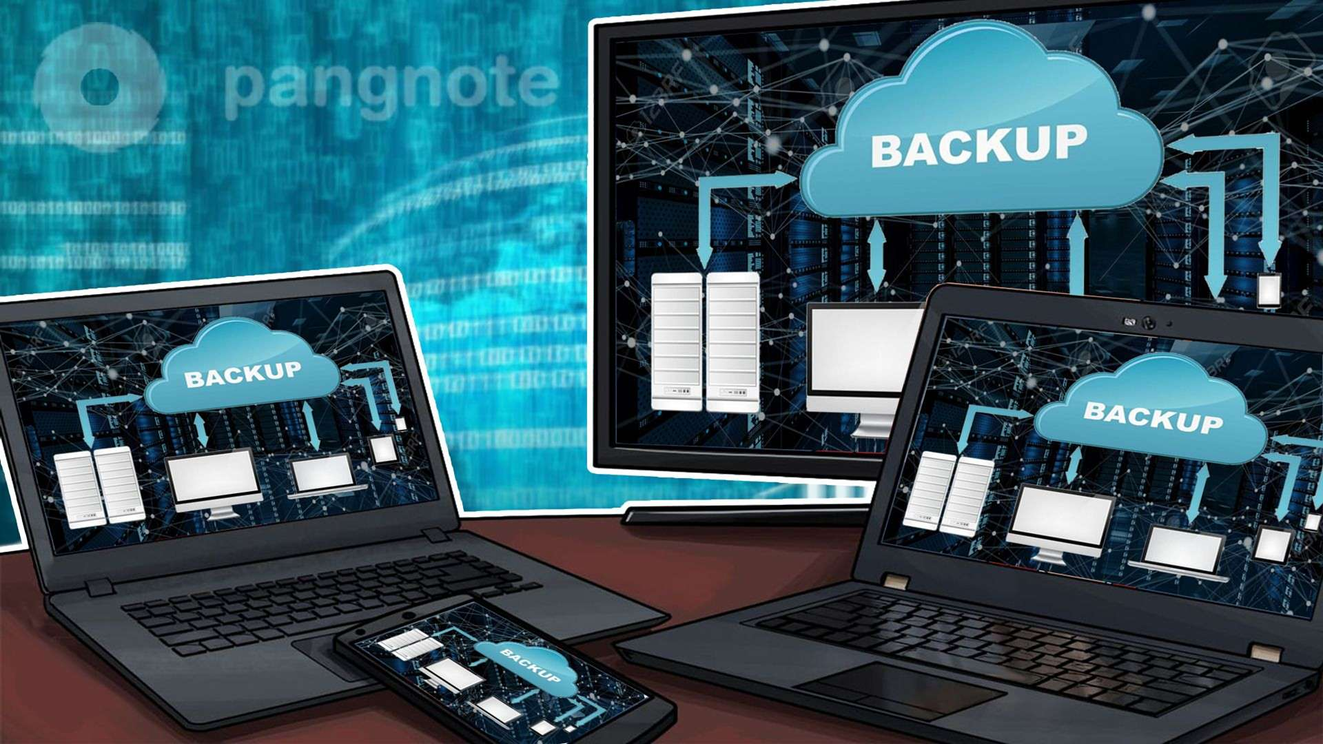 Backup technologies that are used on the server