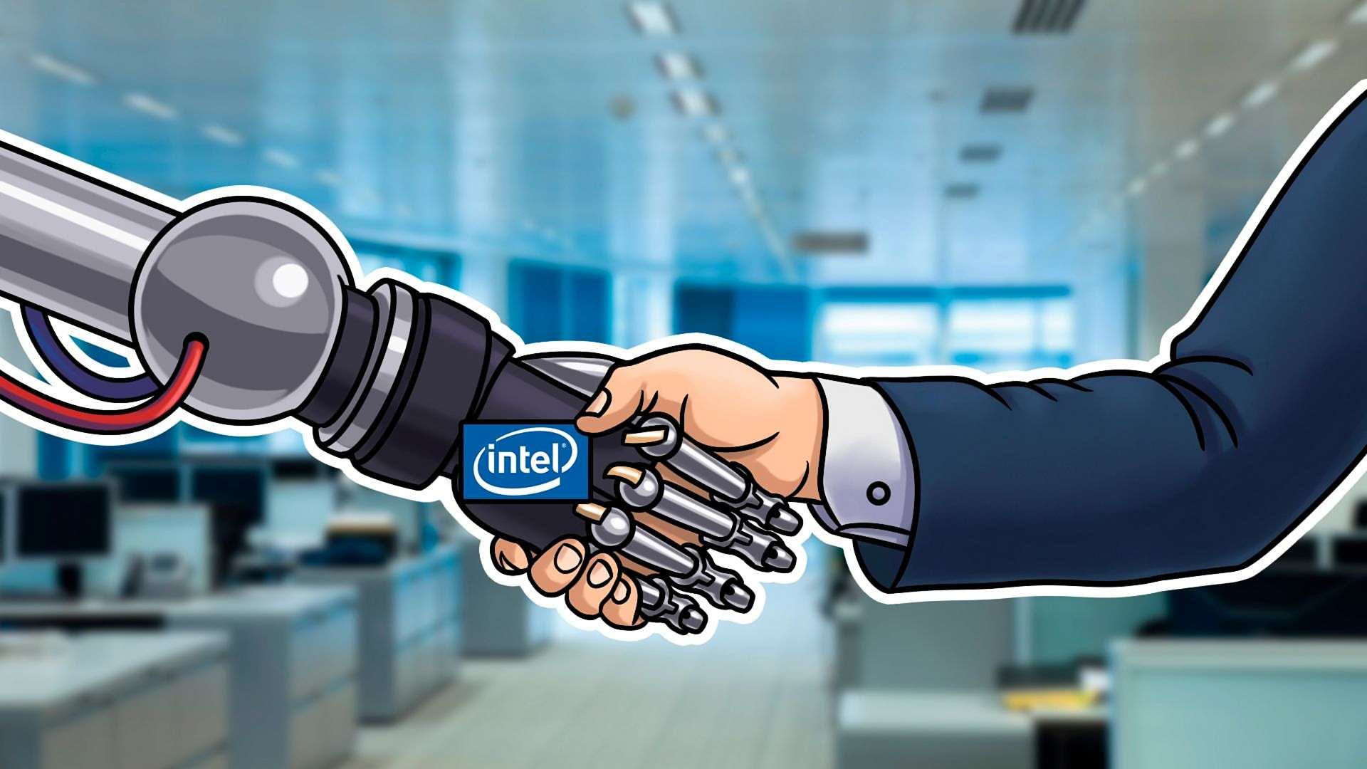 Intel presented fresh research and solutions for smart factory