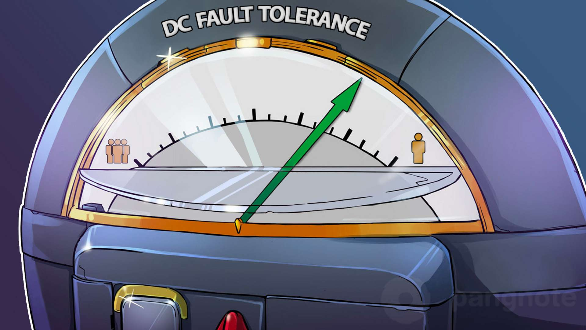 The way to increase DC fault tolerance lies through minimizing the human factor