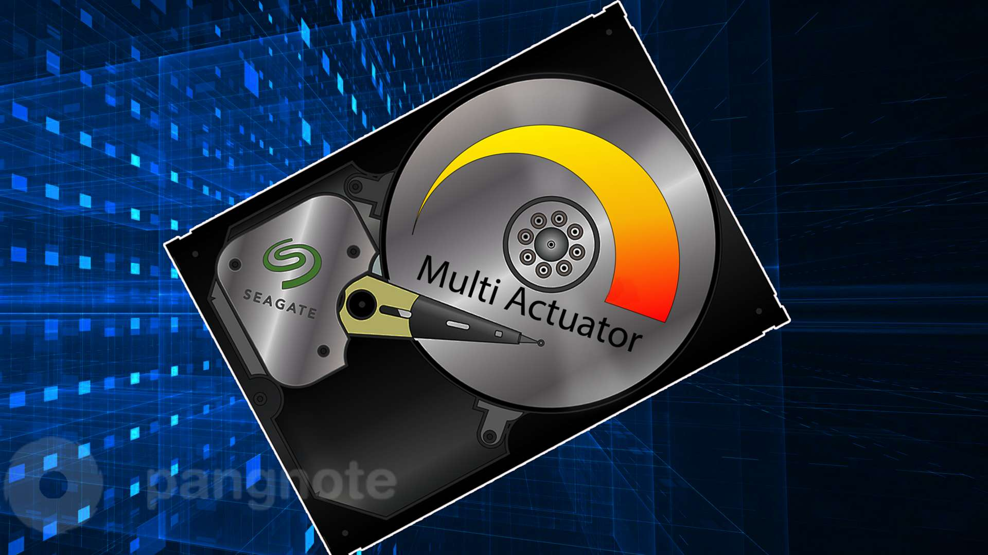 Multi Actuator technology allows you to double the performance of HDD