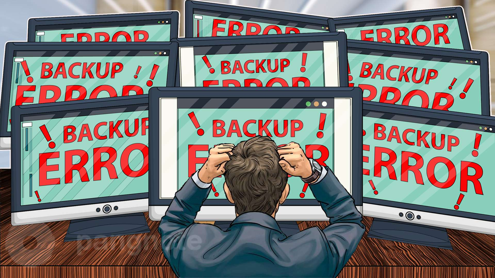 Tips on how to avoid problems with the creation and recovery of backup