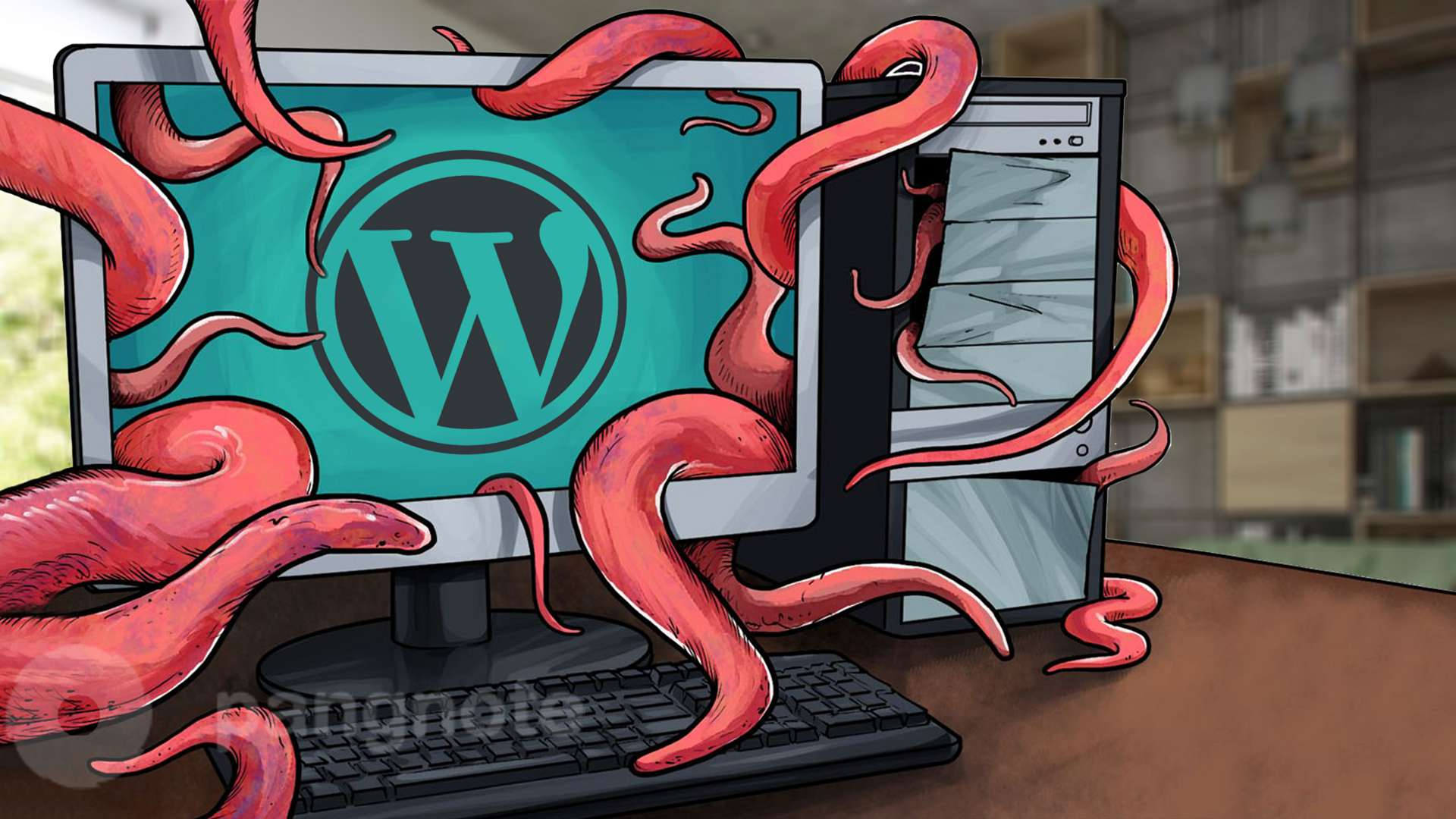 Mass attack on sites with the WordPress engine