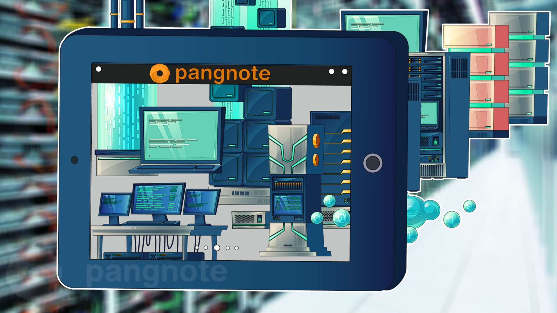 Why Pangnote a roaring Hosting services exchange and does not look like a forum