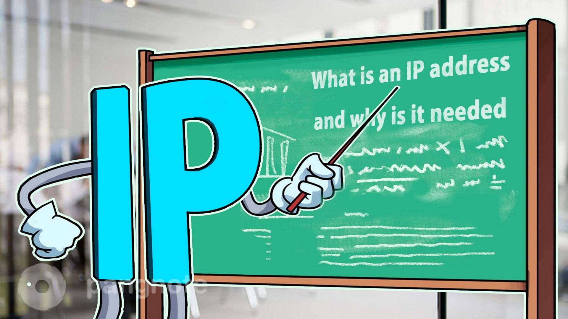What is an IP address and why is it needed?