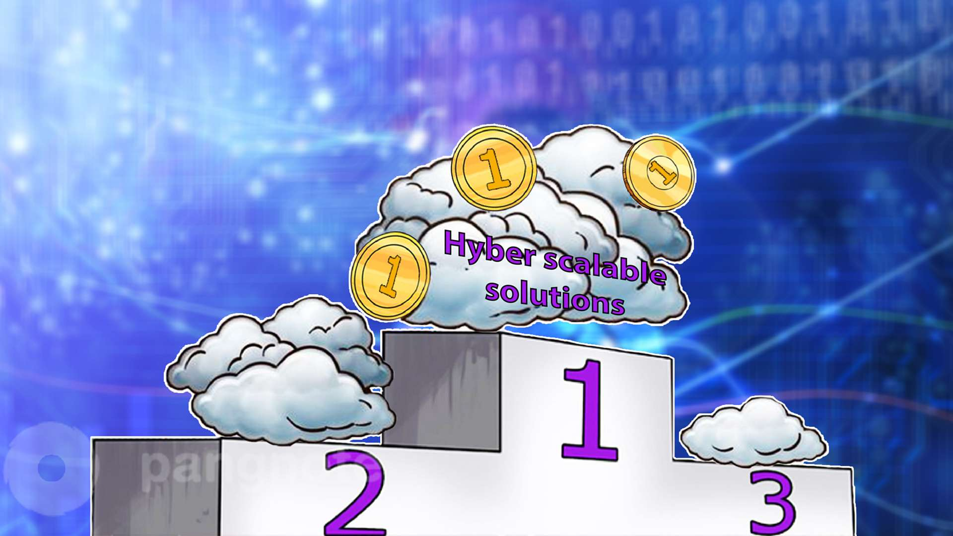 In the market of cloud services, the leaders are hyper scalable solutions