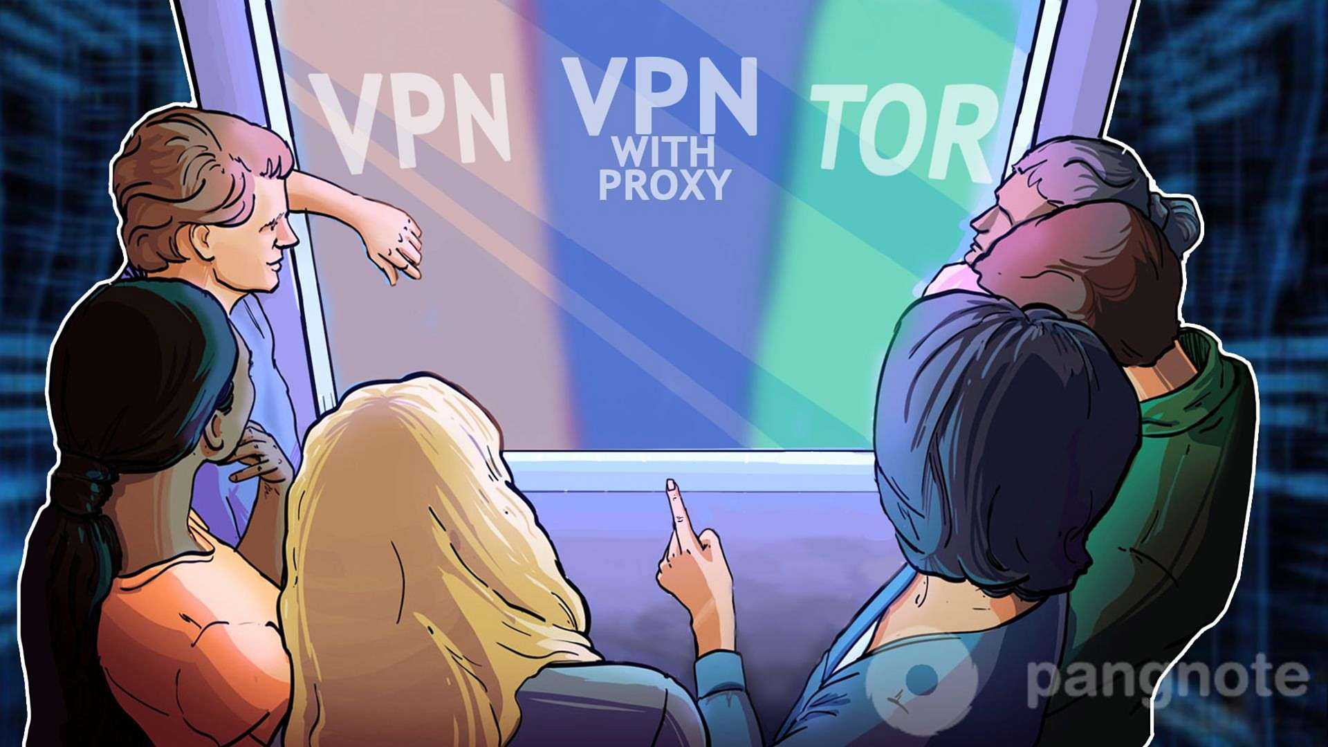 How does it work and VPN comparison VPN with proxy and Thor?