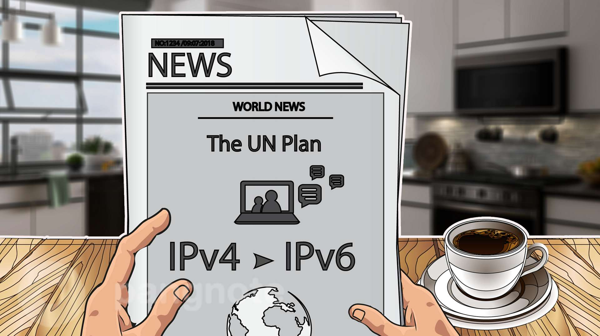 UN published transition plan for Ipv6