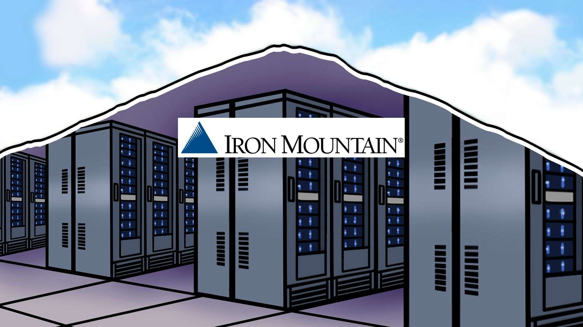 Unbelievable Power Usage Effectiveness of underground Iron Mountain DC