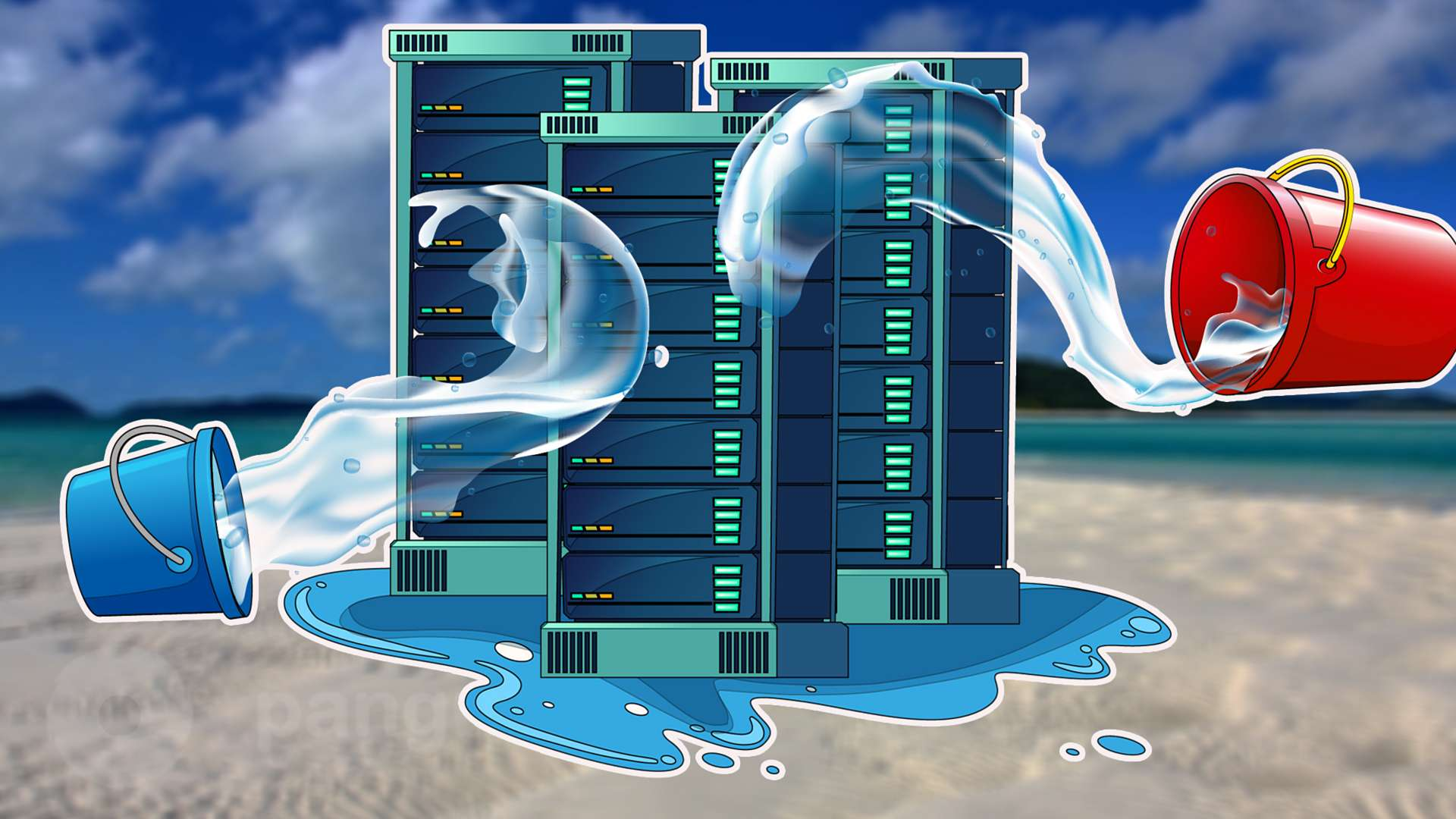 Water cooling in the data centers: reasons of popularity