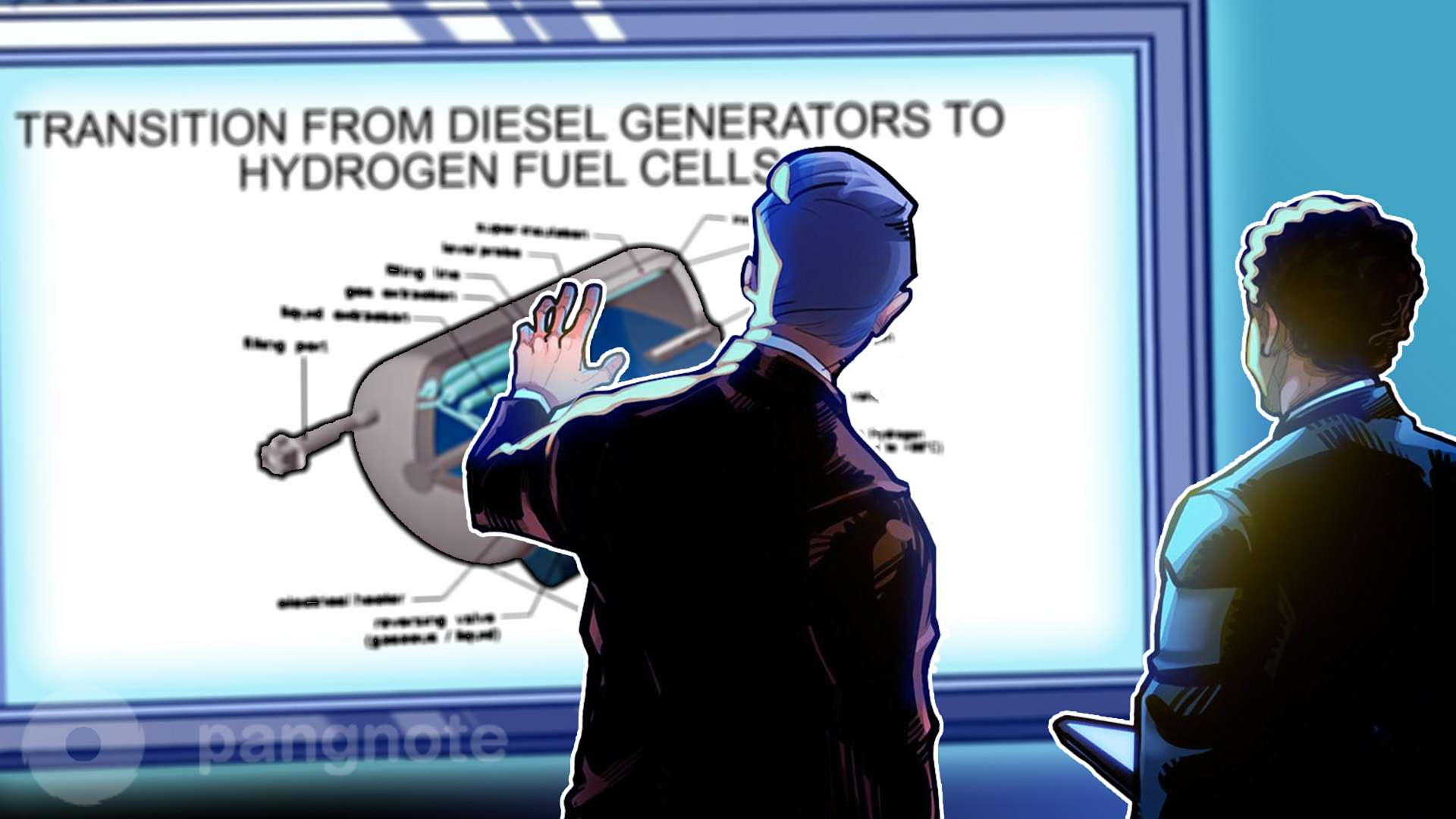 Prospects for Data Center Transition from Diesel Generators to Hydrogen Fuel Cells