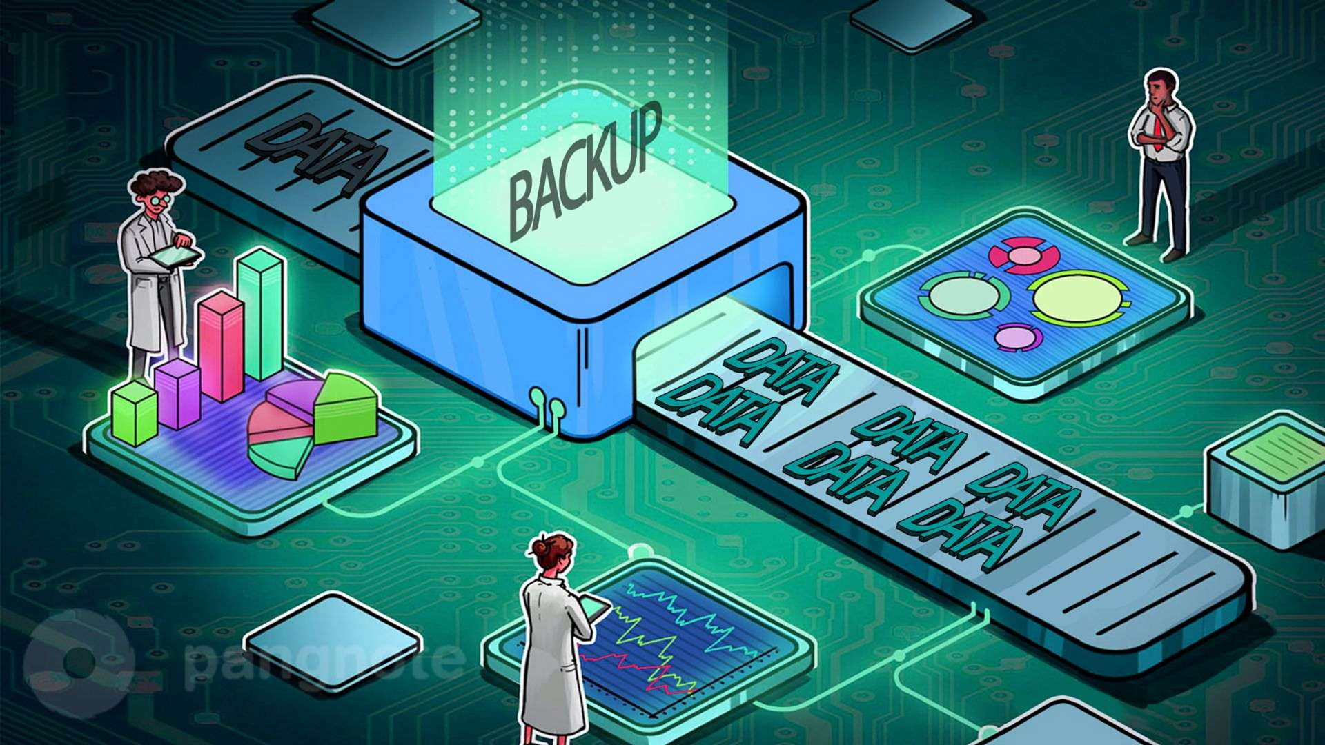 Backup as one of the most important elements in the operation of any project