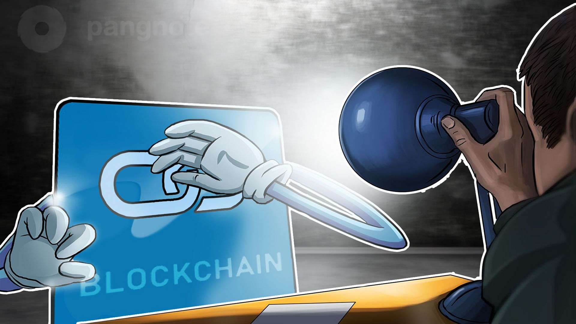 What problems does blockchain pose to companies
