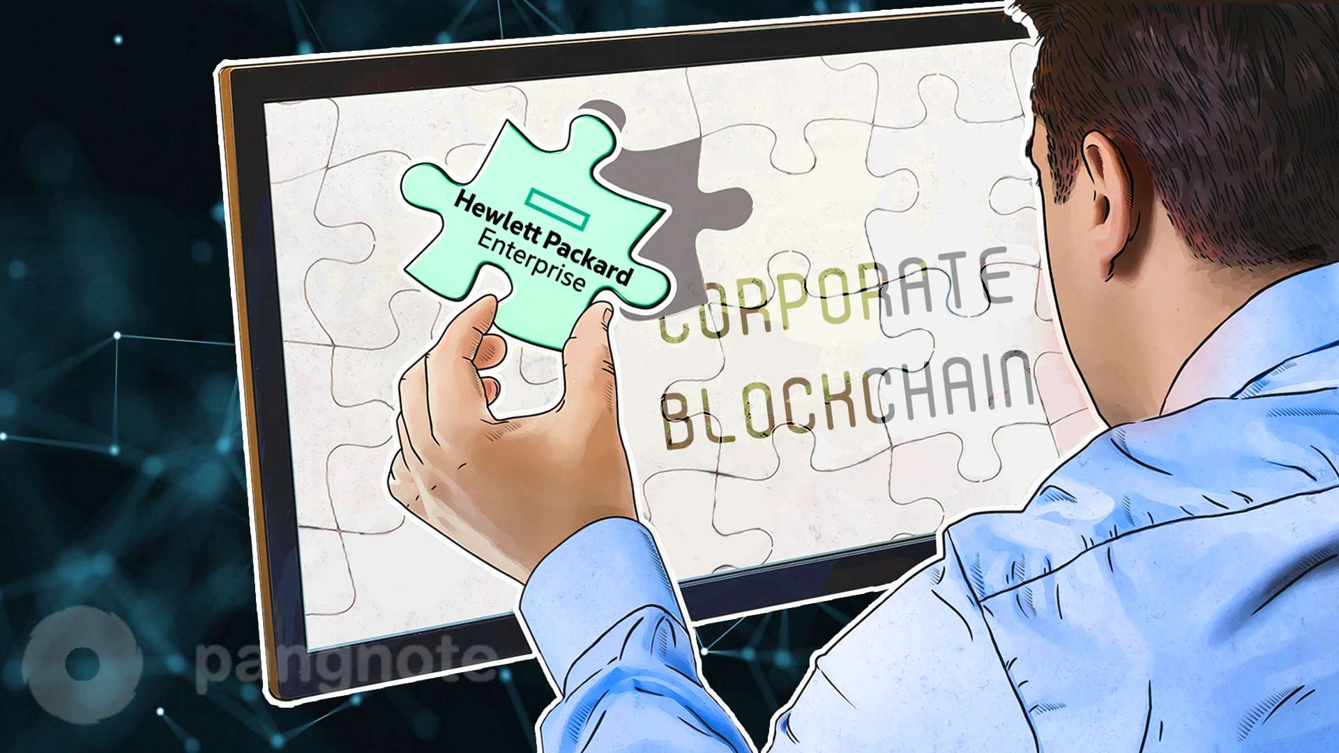 HPE on the corporate blockchain market