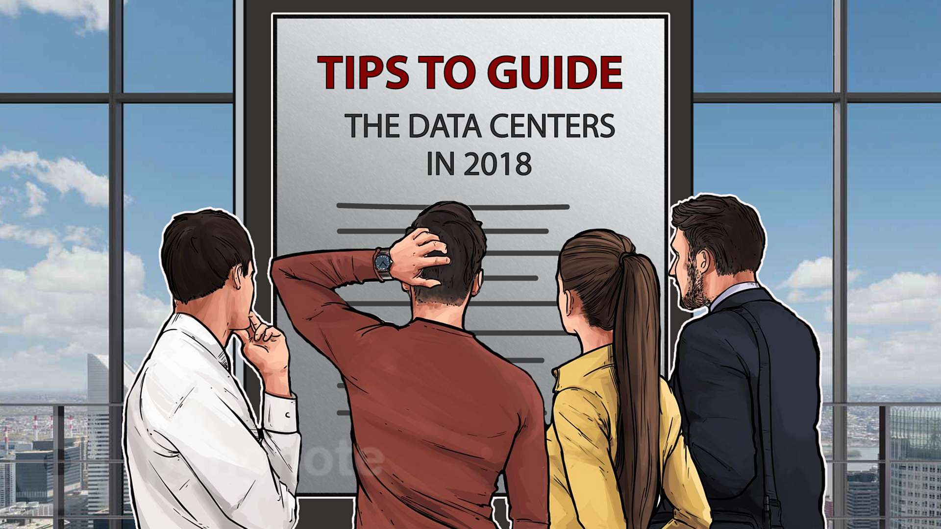 Tips to guide the data centers in 2018